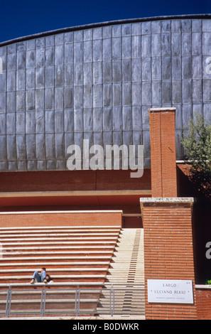 auditorium, parco della musica, by architect renzo piano, rome, lazio, italy Stock Photo