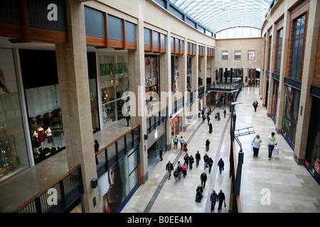 Grand Arcade shopping centre in Cambridge England - Stock Photo