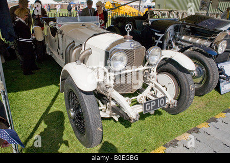 Mercedes at Goodwood Revival meeting, 2007 - Stock Photo
