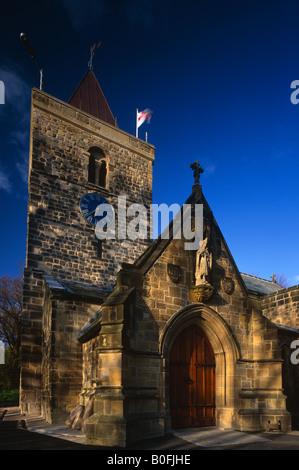 St Michael and All Angels Church, Newburn, Newcastle upon Tyne - Stock Photo