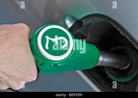 Refuel  car - Stock Photo