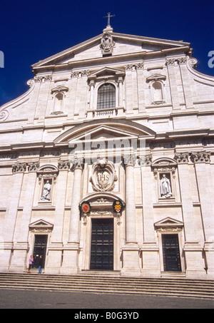 Chiesa del Gesu, Rome, Lazio, Italy - Stock Photo