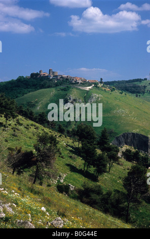 Casertavecchia, Province of Caserta, Campania, Italy - Stock Photo