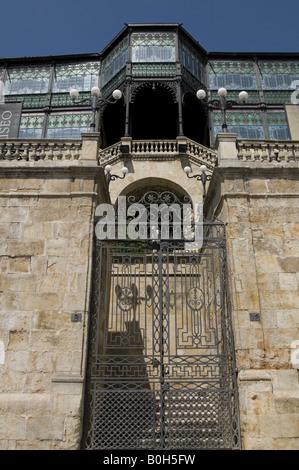 Art Nouveau Museum in Salamanca (Casa Lys, 1905) - Stock Photo