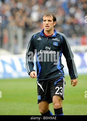 Rafael VAN DER VAART, Hamburger SV footballer - Stock Photo