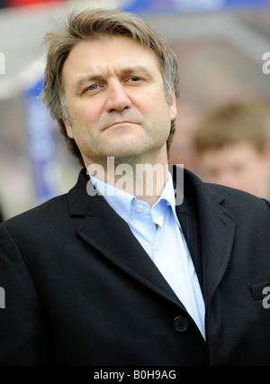 Head of sports Dietmar Beiersdorfer, Hamburger SV football club - Stock Photo