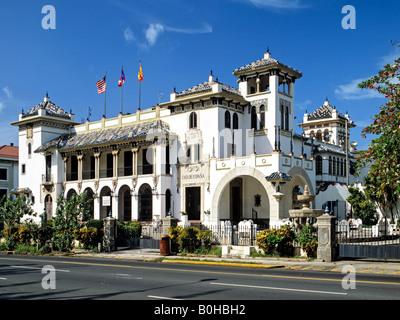 Casa de Espana, San Jose, Puerto Rico, Caribbean - Stock Photo