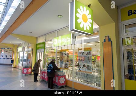Drugstore, pharmacy, Ihr Platz in Berlin-Neukoelln, Germany - Stock Photo