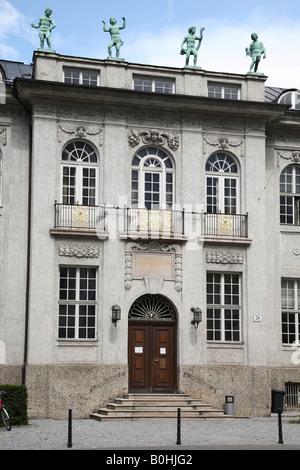 Mozarteum in Salzburg, Austria - Stock Photo