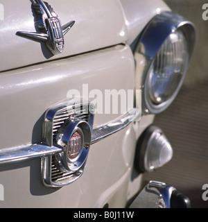 Detail of Car, Model SEAT 600. - Stock Photo