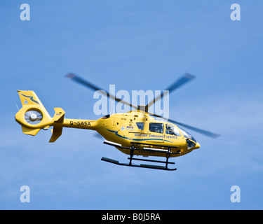 Scottish Ambulance Service Eurocopter EC 135T 1, Scotland - Stock Photo