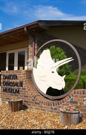 Dakota Dinosaur Museum Dickinson North Dakota USA - Stock Photo