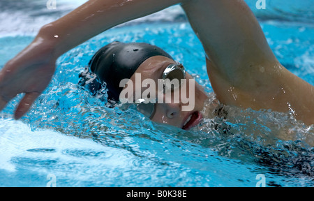 how to turn mouth sideways for breating in freestyle swimming