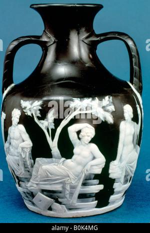 The Portland Vase, c5-25 AD. Artist: Unknown