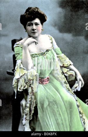 Marie Tempest (1864-1942), English singer and actress, 1905. Artist: S Hildesheimer & Co - Stock Photo