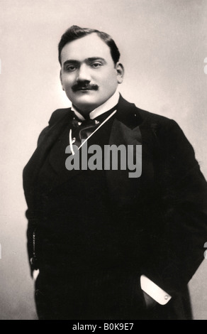 Enrico Caruso (1873-1921), Italian tenor, 1907.Artist: Rotary Photo - Stock Photo