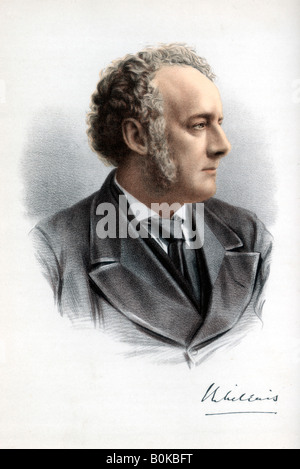 Sir John Everett Millais, 1st Baronet, British painter and illustrator, c1890.Artist: Cassell, Petter & Galpin