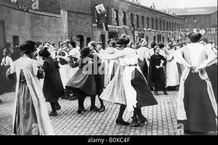 Celebrating the end of the First World War, 1918, (1935). - Stock Photo