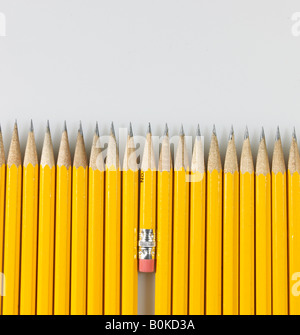Short and Long Pencils - Stock Photo