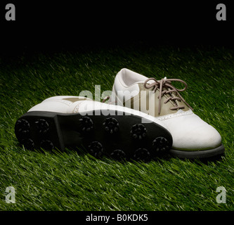 Golf Shoes - Stock Photo