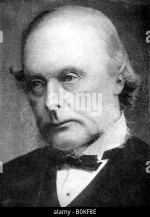 Joseph Lister (1827-1912), English surgeon and pioneer of antiseptic surgery, 1926. Artist: Unknown - Stock Photo