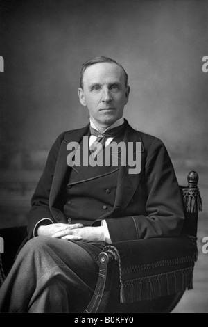 John Morley (1838-1923), 1st Viscount Morley of Blackburn, 1890. Artist: W & D Downey - Stock Photo