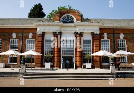 The Orangery Restaurant In Kensington Palace Gardens London UK Europe - Stock Photo