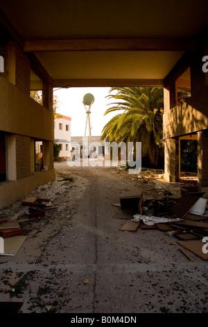periphery, leaved factory, el saler, - Stock Photo
