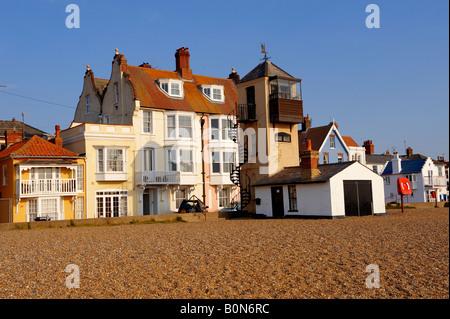 Aldeburgh beach - Suffolk - Stock Photo