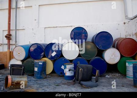 periphery, leaved factory, el saler, burrel - Stock Photo