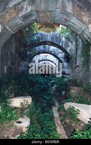 Amphitheatre, Santa Maria Capua Vetere, Province of Caserta, Campania, Italy - Stock Photo