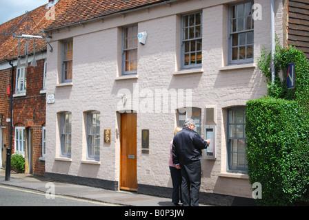 Fat Duck Restaurant, High Street, Bray, Berkshire, England, United Kingdom Stock Photo