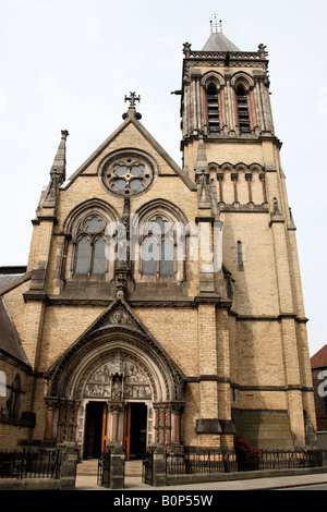 facade of st wilfrids catholic church duncombe place york north yorkshire england uk - Stock Photo