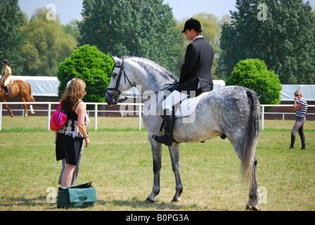 Pony Club Rider Royal Windsor Horse Show Home Park Berkshire