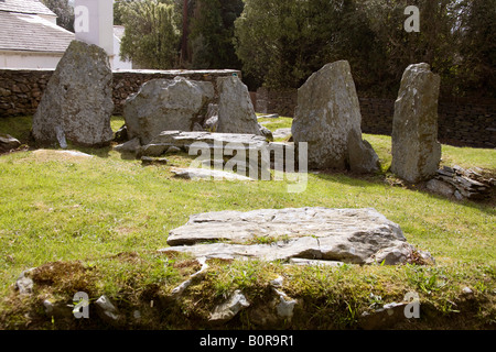 Megaliths and Giants of the Isle of Man - The Cloven Stones and King Orry's Grave King-orrys-grave-near-laxey-isle-of-man-iom-megalithic-tombuk83205-b0r9r1