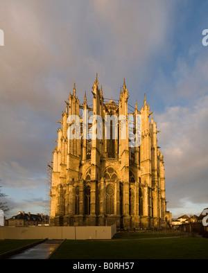Beauvais Cathedral of St peter, Picardie,Oise (60).Cathédrale Saint-Pierre de Beauvais - Stock Photo