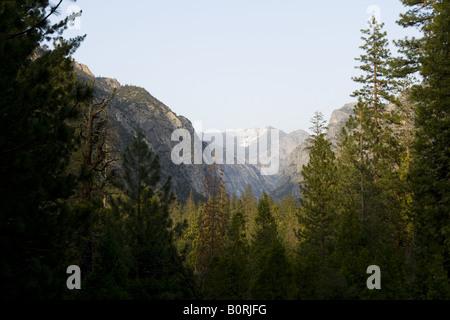 Canyon View, Kings Canyon National Park - Stock Photo
