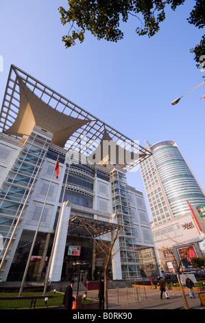 Shanghai Urban Planning Expo Exhibition Hall Shanghai China - Stock Photo