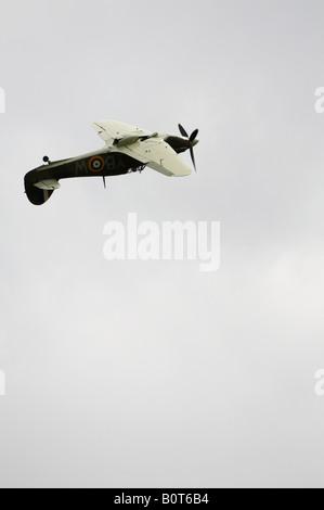 Hawker Hurricane Battle Of Britain Memorial Flight Duxford Spring Air Show 2008 - Stock Photo