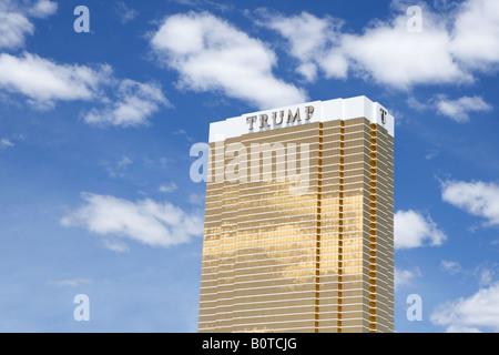 Trump Tower in Las Vegas Nevada USA - Stock Photo