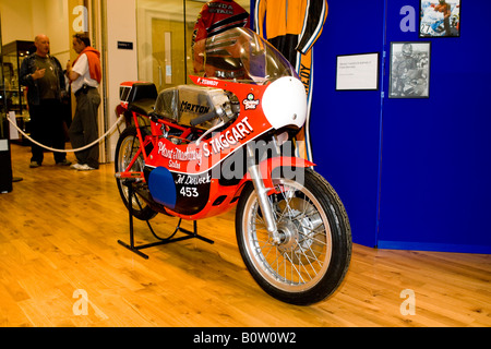 Frank Kennedy motorbike - Stock Photo