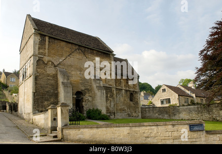 Saxon Church of St Laurence Bradford on Avon Wiltshire UK Founded AD 705 - Stock Photo