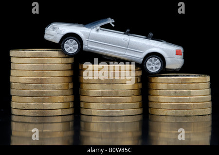 Car taxes - Stock Photo