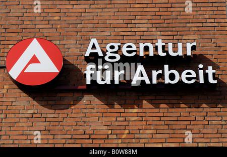 Agentur fuer Arbeit, employment agency, Germany - Stock Photo