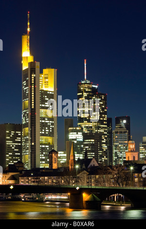 brustungsgelander comerzbank tower at neight germany hesse frankfurt stock photo ideas for valentines day party