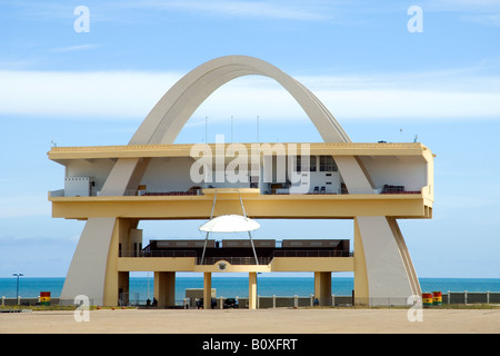 Independence Arch, Accra, Ghana - Stock Photo