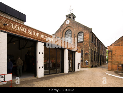UK England Suffolk Leiston Long Shop Industrial Museum in Garretts former engineering factory - Stock Photo