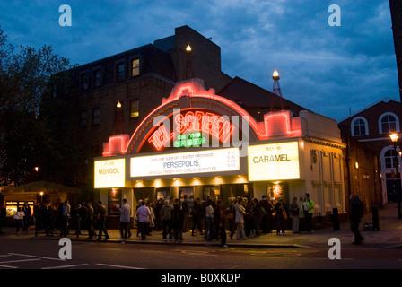 The Screen on the Green cinema on Upper Street, Islington, London, England, UK - Stock Photo