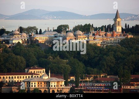 TUR Turkey Istanbul Golden Horn Topkapi Palace - Stock Photo