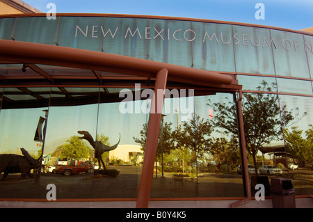 New Mexico Museum of Natural History and Science Albuquerque New Mexico - Stock Photo